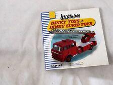 Dinky Toys Utilitaires DINKY TOYS et SUPERTOYS Redempt Touillez Drivers