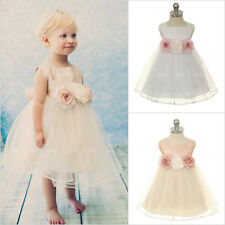 Flower Girl Dresses Toddler Infant Baby Birthday Wedding Bridesmaid Formal Party