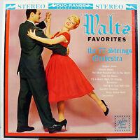 "12"" 33 RPM STEREO LP - GOLDEN TONE 14043 - 77 STRING ORCHESTRA - WALTZ FAVORITES"