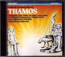Nikolaus HARNONCOURT: MOZART Thamos, König in Ägypten CD Janet Perry Thomaschke