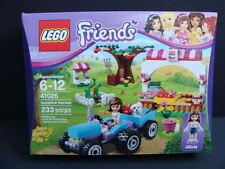 NEW LEGO Friends Sunshine Harvest 41026 Olivia Dog Trailer Tractor Market NIB