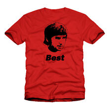George MEJOR Manchester Unido Hombre Utd N Irlanda rojo verde camiseta de fútbol