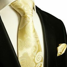 Champagner Krawatten Set 2tg Hochzeitskrawatte 442