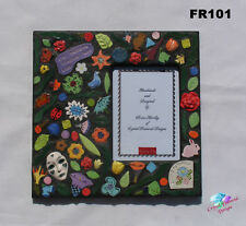 FLOWER PHOTO FRAME - HANDMADE MOSAIC Single Photo Frames FR101