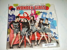 MusicCD4U Kpop CD Autograph Wonder Girls Two Different Tears Singapore Press
