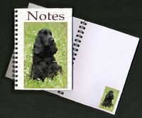 Cocker Spaniel Black Notebook/Notepad No 5 By Starprint - Auto combined postage