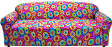 """CLOSE OUT-JERSEY SOFA """"STRETCH"""" COUCH SLIP COVER----TIE DYE----FREE SHIPPING !!!"""