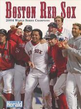 Boston Red Sox 2004 MLB Baseball World Series Champions book