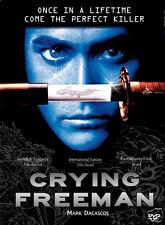 CRYING FREEMAN (DVD PAL COLOR) Mark Dacascos,  Christophe Gans, Martial Arts