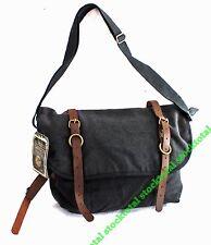 BOLSA Rothco Vintage Canvas Explorer Shoulder Bag w/ Leather Accents 9684 RT