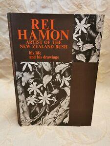 Vintage Book Rei Hamon Artist Of The New Zealand Bush His Life & Drawings - 1977