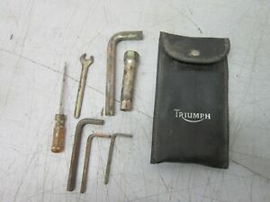 Triumph Trophy 900 Partial Tool Kit with Tool Pouch