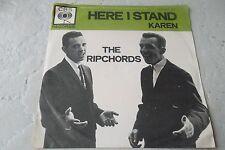 THE RIPCHORDS KAREN 45 DUTCH