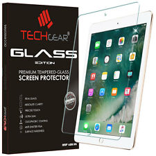 "TECHGEAR TEMPERED GLASS Screen Protector Cover For New Apple iPad 9.7"" 2018 2017"