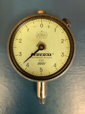 Federal Dial Indicator 0001 Miracle Movement Missing Crystal