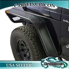 """1997-2006 Jeep Wrangler TJ/LJ 5.5"""" 4PCS Flat Fender Flares With LED Lights"""