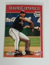 1999 Team Best Bruce Chen ROOKIE # 21 Braves MINT RC
