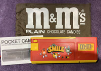 Vintage 1980s M&M Candy Pocket Camera With Carry Case - Le Clic Camera