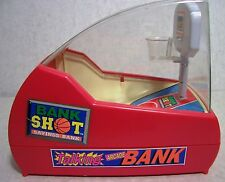 Talking Arcade Basketball Game Electronic Toy BANK 1996 NEW Vintage collectible