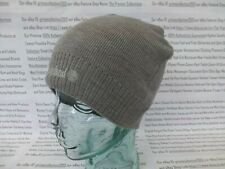 TIMBERLAND Ribbed Cuff Beanie Mens Double-Layered Hat Grey Slouch Cap BNWT