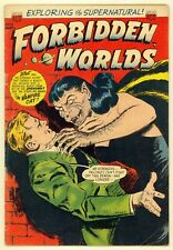 Forbidden Worlds #15 (1953) VG- (3.5) ~ Ken Bald Cover ~ ACG ~ Horror Comic