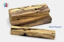 Lot de 5 carrelets en bois d'aulne échauffé, pour stylos, tournage sur bois