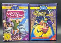 DVD: Sammlung DER GLÖCKNER VON NOTRE DAME 1-2 (1 + 2) Komplett Deutsch