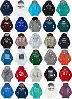 U-PICK AERO Aeropostale Mens Logo Hoodie Hooded Sweatshirt  XS,S,M,L,XL,2XL,3XL