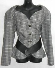 Women's Plaids Checks 100% Wool Coats & Jackets