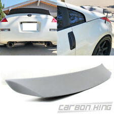 Unpainted For Nissan 350Z Z33 Z Coupe Sport V Style Trunk Boot Spoiler 2008