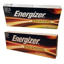 10x AA 10x AAA Energizer Industrial Batteries Long-lasting 1.5 V Alkaline Batter