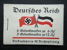 Germany Nazi 1933 Stamps MNH Bklt 32 Frederick the Great Third Reich WWII German