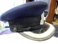 More details for vintage rare vancouver police peak cap with badge from house clearance