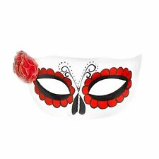 Mexican Day Of The Dead Eyemask Adult Smiffys Fancy Dress Costume Accessory