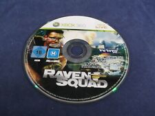 Raven Squad Xbox 360 PAL Version Disc Only Cleaned and Tested