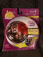 HIT CLIPS MICRO MUSIC DISC SIMPLE PLAN ADDICTED CLIPPABLE COLLECTIBLE MUSICAL