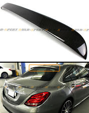 2015-2017 MERCEDES BENZ W205 C300 C400 C63 CARBON FIBER REAR WINDOW ROOF SPOILER
