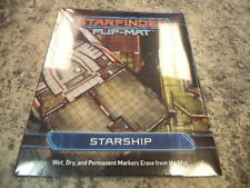 Starfinder Starship Flip Mat Paizo RPG Roleplaying Game Aid New!