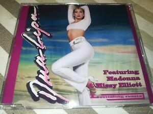 Dua Lipa feat Madonna & Missy Elliott levitating remix 3 trk Dj Cd maxi Single