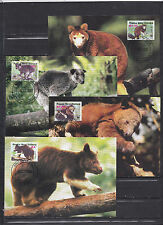 Papua New Guinea 2003 - Maxi Cards - Dieren / Animals / Tiere  (WWF / WNF)