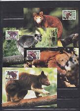 Papua New Guinea 2003 - Maxi Cards - Dieren / Animals / Tiere  (WWF / WNF)