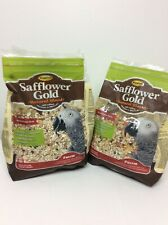 New listing 2x Higgins Safflower Gold Natural Food Mix for Parrots 3lbs