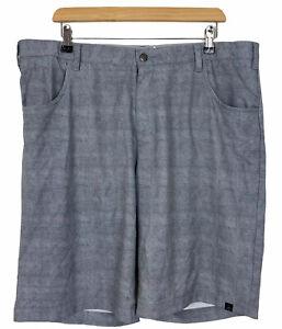Adidas Mens Grey Casual Elastic Waist Shorts W38 L10