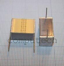 6,8uF 100V 10% Condensatore Film Poliestere MKT SilverCap Epcos/TDK 2 pezzi