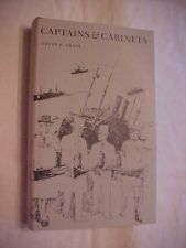 1972 Book CAPTAINS & CABINETS by David F. Trask, BRITAIN & ALLIES in WWI