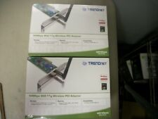 TRENDNET TEW-423PI 54MBPS 802.11G WIRELESS PC ADAPTER NEW SEALED QTY-10