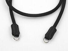 Black Outdoor Cord Camera Neck Hand Made Strap 35.4 inch / 90Cm