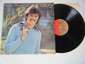 BERNI FLINT I DON'T WANT TO PUT A HOLD ON YOU VINYL LP EMI UK 1977