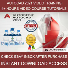 Autodesk AutoCAD 2021 Pro Video Course Training Tutorial - Instant Download