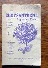 Horticulture LE CHRYSANTHÈME A GRANDES FLEURS 1925